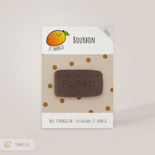 Bourbon Biscuit Badge