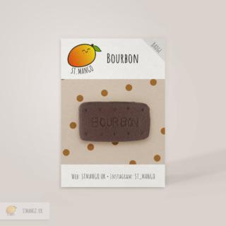 Bourbon Biscuit Badge