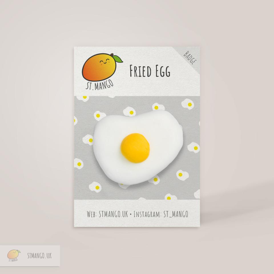 Fried Egg Badge