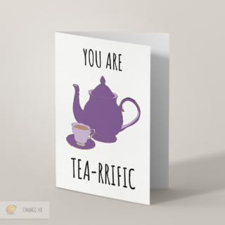 Tea Greetings Card