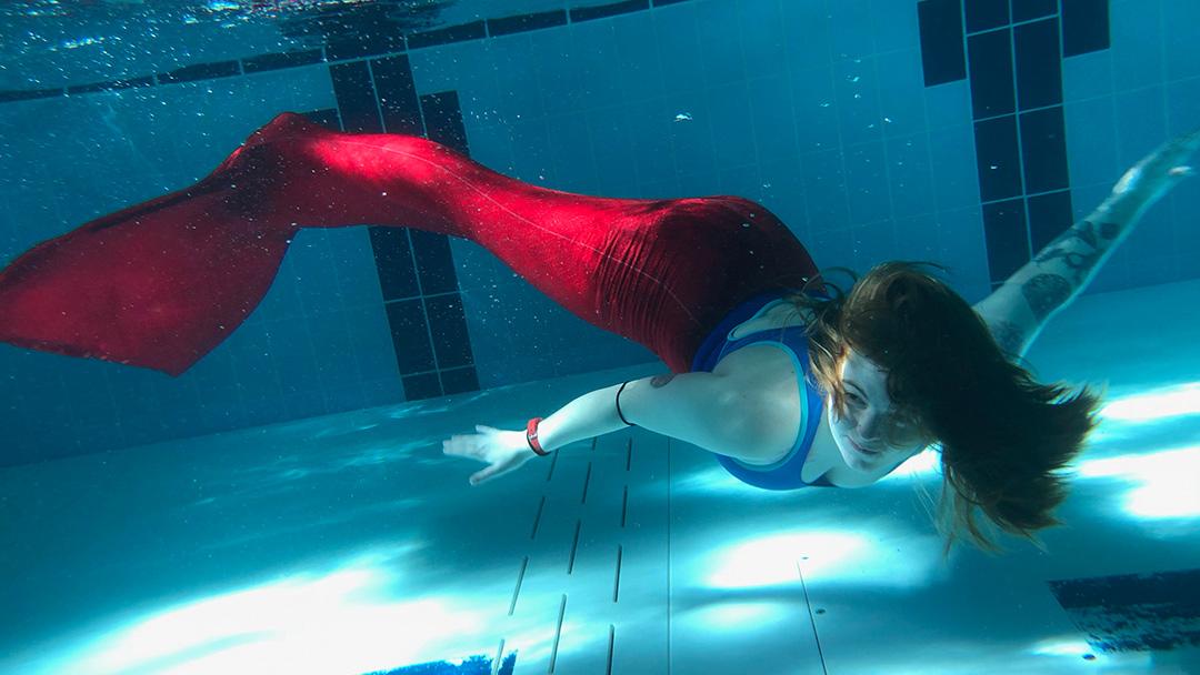 I Went Mermaid Swimming!